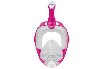 Mirage Galaxy 2 Mask & Snorkel Adult Set - Pink - S/M