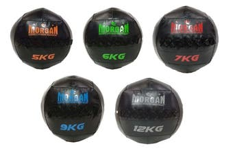 Morgan Cross Functional Fitness Wall Ball Set Of 5 (5 + 6 + 7 + 9 + 12Kg)