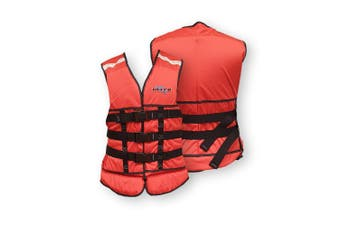 Ultra Life Jacket PFD – Personal Floating Device - Commercial Smallport Orange Extra Large