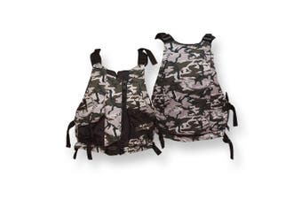 Ultra Life Jacket PFD – Personal Floating Device - Gorge Camo Small