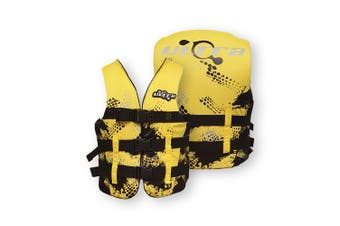 Ultra Life Jacket PFD – Personal Floating Device - Contender Yellow Small