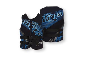 Ultra Life Jacket PFD – Personal Floating Device - Eclipse Black Blue 3X-Large