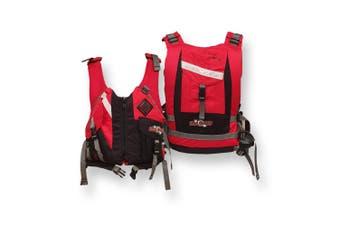 Ultra Life Jacket PFD – Personal Floating Device - Pinnacle Red 2X-Large