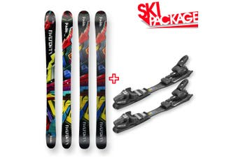 Five Forty Snow Skis Park Camber Sidewall 135cm with Binding Package