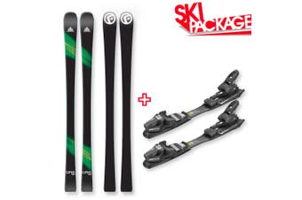 FIND Carve Capped Skis 158cm with Binding Package