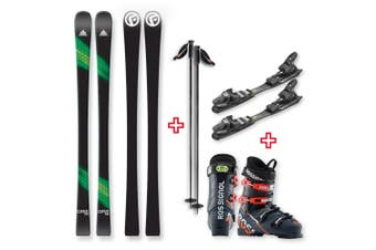 FIND Carve Capped Skis 158cm with Binding, Boots, Poles Package