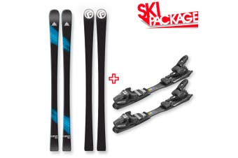 FIND Carve Capped Skis 163cm with Binding Package