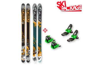 FORCE FRX Sidewall Skis 170cm with Binding Package