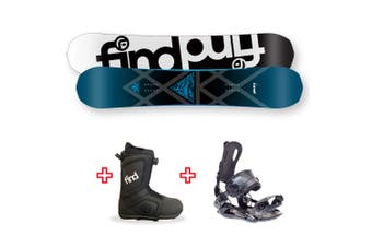 FIND Prism Sidewall Snowboard Package with Realm ATOP Cable Boot and Rear Entry SP Binding