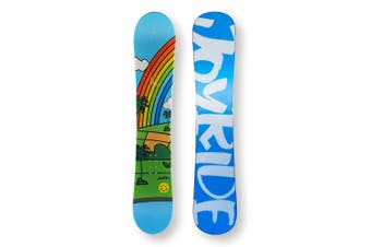 JOYRIDE Snowboard 146.5cm Rainbow Twin Tip Flat With Tip Rocker Capped
