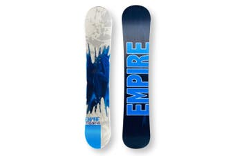 EMPIRE Snowboard 149cm Stream Blue Twin Tip Camber Capped