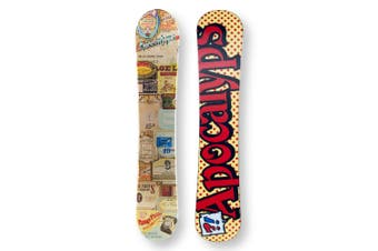 APOCALYPS Snowboard 149cm Vintage Twin Tip Camber Capped