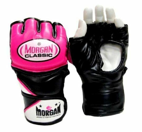 Morgan Classic MMA Gloves Super Nylex Padded Full Open Palm