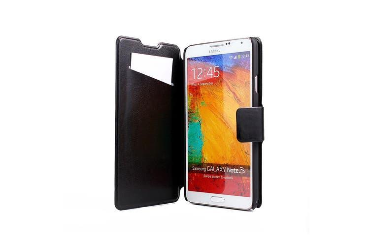 AGILE Slim Wallet Case - Samsung Galaxy A3 - Black