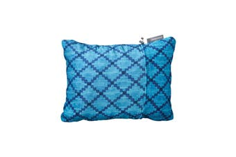 Thermarest Compressible Pillow Blue Heather Sleep Pillows Size Small