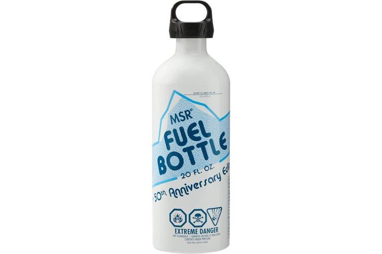 MSR 50Th Anniversary Fuel Bottle 590Ml Stoves Fuel Bottles White