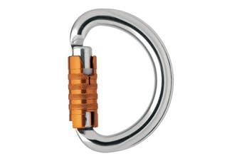 Petzl Omni Triact Lock Ce Carabiners Silver