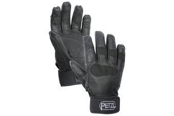 Petzl Cordex Plus Belay/Abseiling Gloves Black Size M