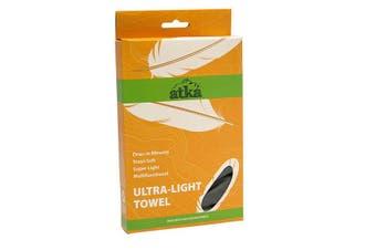 Atka Ultra Light Towel - Regular Charcoal