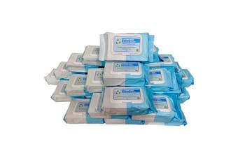 32 X 80PK 70% Isopropyl Alcohol Thick Wipes