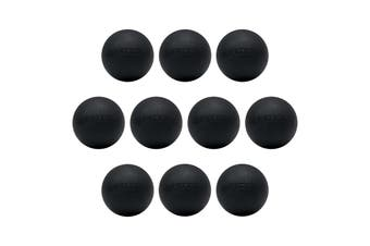 FITEK Extra Firm Lacrosse Massage Ball Pack of 10 - High Quality Food Grade Silicone