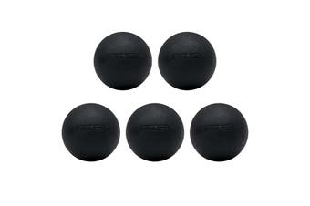 FITEK Extra Firm Lacrosse Massage Ball Pack of 5 - High Quality Food Grade Silicone