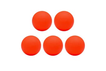 FITEK Firm Lacrosse Massage Ball Pack of 5 - High Quality Food Grade Silicone