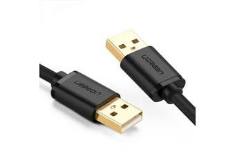 UGREEN USB2.0 A Male To Male Cable 0.25M/0.5M/1M/1.5M/2M/3M for Data Transfer Hard Drive Enclosures, Printers, Modems, Cameras