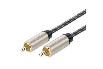 Ugreen 1M 2M HiFi 5.1 SPDIF RCA Male to Male Audio Video Coaxial Cable 75 RCA