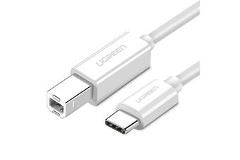 UGREEN USB C Printer Cable, USB Type C to USB 2.0 Type B Printer Scanner Cable Cord High Speed for Brother, HP, Canon, Lexmark, Epson, Dell, Xerox, Samsung etc and Piano, DAC (3FT, White)