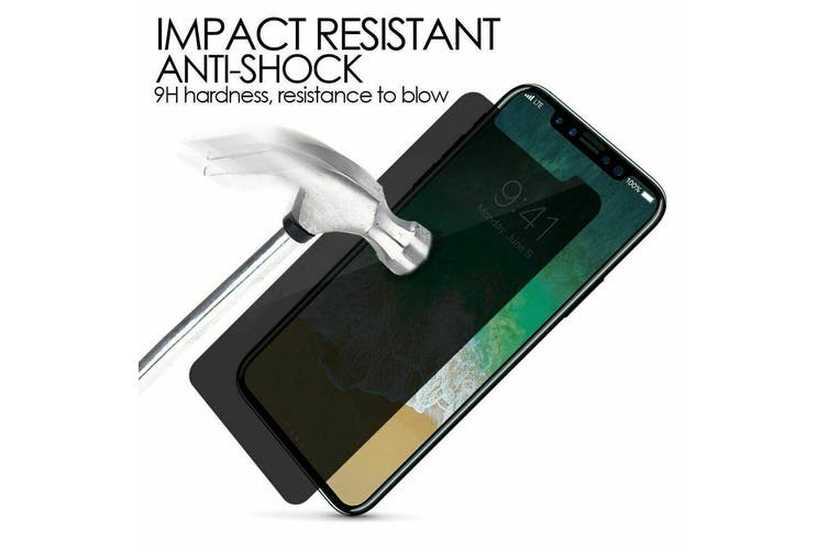 iPhone 11 Pro/ Xs / X Privacy Tempered Glass Nillkin [180°Anti-peep][3D Curved Edge-Full Coverage][Anti-explosion][Anti-fingerprint][9H Hardness]