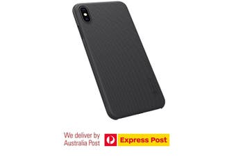 """Nillkin Case for iPhone Xs Max Frosted Shield Hard Slim Case Back Cover for iPhone Xs Max 6.5"""" 2018 - Black"""