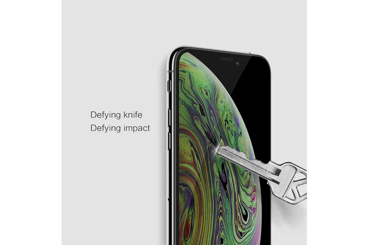 Nillkin Genuine iPhone 11 Pro Max XS Max Screen Protector [3D Curved Edge - Full Coverage - Perfect Fit - Very High Quality] Oleophobic Coating Japanese Tempered Glass Screen Protector