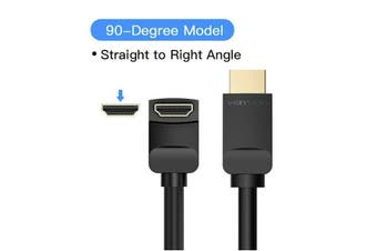 Premium VENTION 1.5M 2M 3M Angled HDMI 2.0 Cable 4K UHD for PS4 XBOX TV Monitor