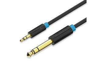 3.5mm To 6.35mm 1/4 inch Stereo Amplifier Guitar Cable Audio Lead 1.5/2/3/5/10M
