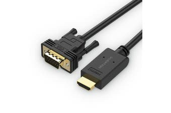 Lention 1.8M HDMI to VGA Video Cable Adapter 1080p HDMI to VGA Converter Cable