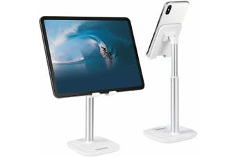 CHOETECH mobile phone and tablet stand - adjustable angle, scratch-resistant aluminum mobile phone or tablet holder, compatible with iPad Pro Air Mini, iPhone 11 Pro Max / Se 2020 / Xs Max / X, Samsung, Huawei, Kindle
