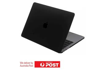 LENTION Hard Case with Port Plugs for MacBook Air 2020 Model A2179 - Black