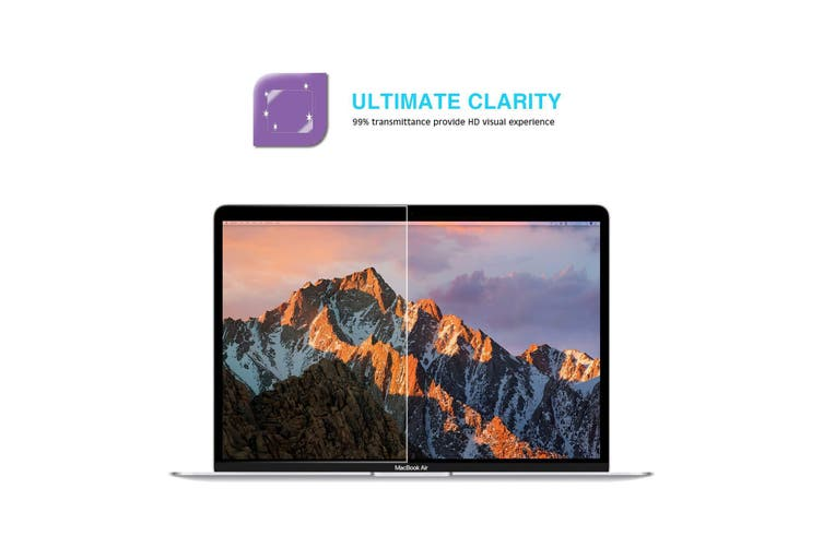 Flaretech Screen Protector with Blue Light Filter for MacBook Pro 13 Inch 2020 Release Model A2289 and A2251