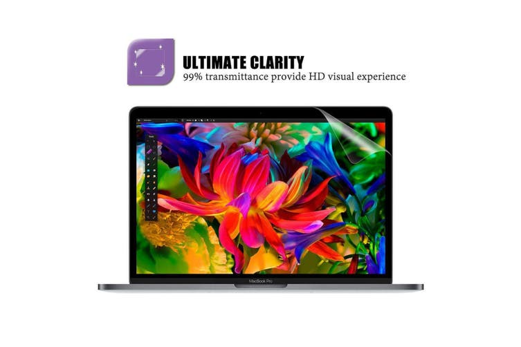 """LENTION Clear Screen Protector for MacBook Pro Air 13"""" 15"""" 16"""" 2016-2020 Models"""