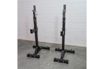 Armortech V2 Adjustable Squat Rack Stands ( pair )