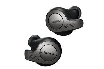 Jabra Elite Active 65t Bluetooth Earphones Titanium Black (AU STOCK)