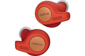 Jabra Elite Active 65t Bluetooth Earphones Copper Red (AU STOCK)