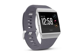 Fitbit Ionic Smart Fitness Watch  - Blue Gray Silver (AU Stock)