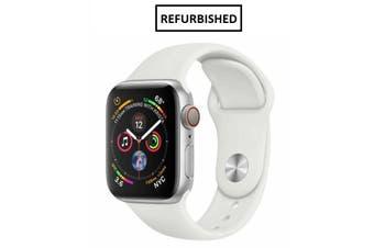 Apple Watch Series 4 40mm GPS+Cellular Silver - Refurbished - Grade B
