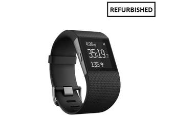Fitbit Surge Fitness Watch (Large) Black - Refurbished (AU Stock)