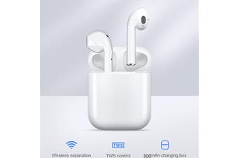 TWS i9s Original Bluetooth Wireless Earphones - White