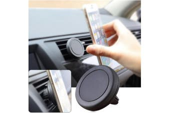 Universal Magnetic Quick Snap Car Air Vent Mobile Smart Phone Iphone Mount