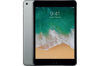 iPad Mini 4 128GB Wifi + Cellular - Silver - Refurbished & Unlocked  - Grade C