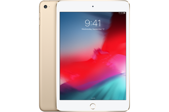 iPad Mini 4 128GB Wifi + Cellular - Gold - Refurbished & Unlocked  - Grade C